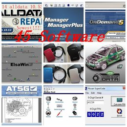 Wholesale New 1tb - new arrival Auto Repair Software Alldata 10.53+Mitchell ondemand5+Vivid workshop+Elsa+ETKA+Heavy truck 49in1 with 1TB New Hard Disk
