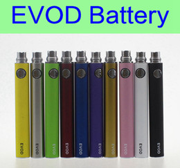 Wholesale Electronic Cigarette Protank Mini - EVOD battery 650mAh 900mAh 1100mAh electronic cigarette battery eGo e cigarettes for MT3 CE4 CE5 MINI PROTANK atomizer