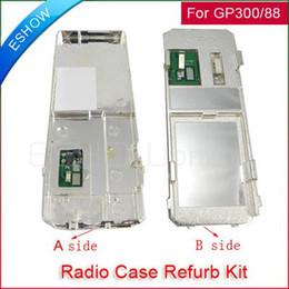 Wholesale Radio Walkie Talkie Kit - Wholesale-Radio Service Parts Case Refurb Kit-backboard For Motorola CB Radio GP88 GP300 Walkie talkie two way CB Ham Radio J0061A Eshow