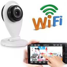 Wholesale Protection Monitoring - Mini Wifi SP009 IP Camera Wireless 720P HD Smart Camera P2P Baby Monitor CCTV Security Camera Home Protection Mobile Remote Cam