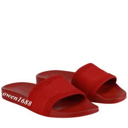 Wholesale Mens Sandals Free Shipping - 2018 mens fashion modusas Cardinal Slides rubber sandals boys summer outdoor beach flat flip flops free shipping