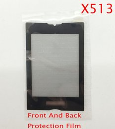 Wholesale phone philips - Wholesale-Original Digitizer Front Glass Replacement For philips xenium x513 Cell Phone Galls Screen Black Free Shipping