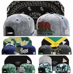Wholesale Wholesales Caps - 2015 Adjustable CAYLER & SONS snapbacks Hats snapback caps Cayler and sons hat baseball hats last kings cap hater diamond snapback cap