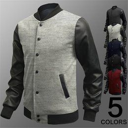 Wholesale long coats for mens - Jackets for Men Baseball Jackets New Arrival Designer Fashion Jacket British Style Mens Summer Baseball Coats Bomber Jackets Baseball Jacket
