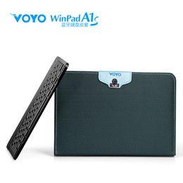 Wholesale Winpad Tablet - Wholesale-Original Voyo 10.1 inch winpad A1s tablet bluetooth keyboard holsteins