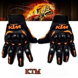 красные желтые мотоциклетные перчатки Скидка 2015 новый KTM кросс-кантри мотоцикл перчатки скоростной спуск противоскользящая падение дышащий рыцарь мотоцикл перчатки черный оранжевый цвета размер M L XL XXL