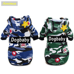 Wholesale Ornament Supplies - Dog Camouflage Clothes Warm Coat for Winter Jackets Costume for Small Medium Puppies Cheap Pet Supplies Brand