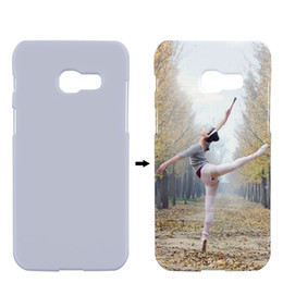 Wholesale 3d Sublimation Phone Cases Blanks - A320 Sublimation Case Matte Cover For Samsung Galaxy A3 2017 a320f Case 3D Heat Transfer Personal Blank Cover Hard Plastic Phone Case