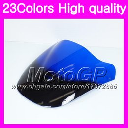 Wholesale 1995 kawasaki ninja - 23Colors Windscreen For KAWASAKI NINJA ZX9R 94 95 96 97 ZX-9R 9 R ZX 9R 1994 1995 1996 1997 Chrome Black GPear Smoke Windshield