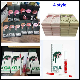 Wholesale Lip Gloss Wholesale Cosmetics - Hot Kylie Jenner lip kit Makeup take me on vacation Lipstick Kit Matte Lip Gloss Kit by kylie cosmetics Lipstick kylie christmas Lipstick