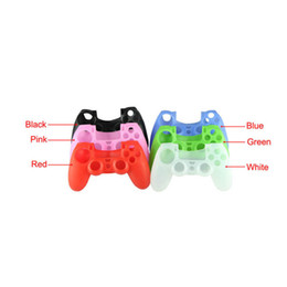 Wholesale Silicone Case For Kindle - Delicate Soft Silicone Rubber Gel Cover Case For Sony Playstation PS4 PS 4 Controller Hot Selling