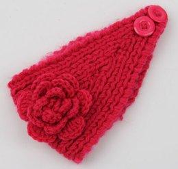 Wholesale Headband Blanks - Wholesale Blanks Winter Women Knitted Headband Ear Warmer Crochet Head Wrap in 24 Colors Free Shipping DOM106215