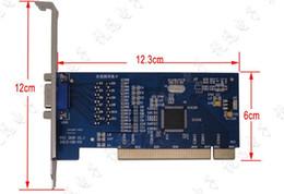 Wholesale 8ch D1 Video - H.264 8CH D1 4CIF Video CCTV DVR Surveillance Capture PCI Card