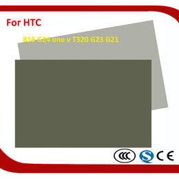 Wholesale One V Lcd - LCD Polarizing Film Phone Replacement Parts For Touch Screen HTC 816 G24 one v T320 G23 G21 Polarized Polarization Polarizer Film