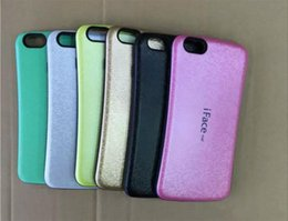 Wholesale Iface Mall - New mazel iface mall case mall Candy Color Soft Korea style case For iphone 5s 7 7plus 6 plus Samsung galaxy s5 s6 edge note 4 note7