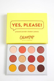 Wholesale Fashion Assistant - Fashion! ColorPop SHE, YES PLEASE & I THINK I LOVE YOU style eye shadow pressed powder eye shadow palette makeup assistant kit