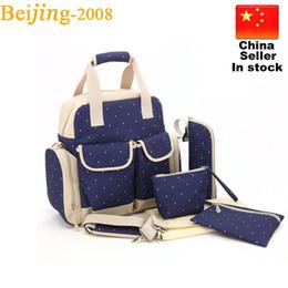 Wholesale Polka Dot Totes - Orgrimmar Multifunction Diaper Tote Mummy Bags Baby Nappy Bag Larger Capacity Mummy Handbag Pregnant Backpack 010237