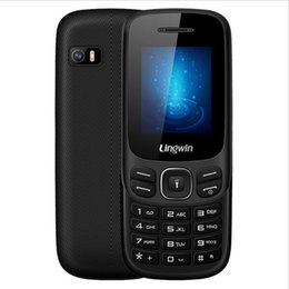 Wholesale Bluetooth Flashlight - Lingwin N1 Feature Phone 1.77 Inch 32MB+32MB SC6513DA 2 SIM+1 TF Slot Cell Phone Elderly MP4 mp3 Flashlight bluetooth Dual SIM Mobile Phone