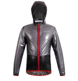 Argentina Al por mayor-Nuevos Top hombres Outdoor Sportswear ThinLightweight a prueba de viento a prueba de agua corriendo Senderismo bicicleta de la bicicleta chaqueta de ciclismo Jersey lluvia Suministro