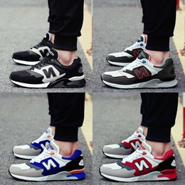 Wholesale Korean Winter Shoes - New Autumn Winter Mesh Casual Shoe High-quality Men Shoe Korean Low Tide Shoe Lightweight Student Forrest Running Shoes Sneakers