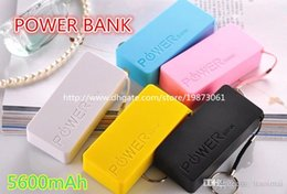 Wholesale Emergency Charger For Iphone5 - 5600mah Perfume Phone Power Bank Emergency External Battery Charger panel USB for iphone5 4S 5 5S 6 Samsung galaxy battery charger