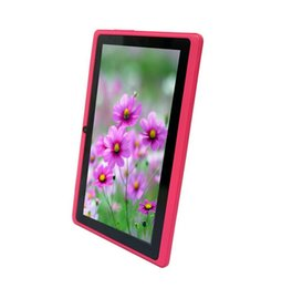 Wholesale Cheap Touch Tablets - 7 inch Q8 A23 - Cheap Tablet PC allwinner A23 Q8 - 7 inch Capacitive Screen + Android tablet + Dual camera + Wifi + 4GB ROM