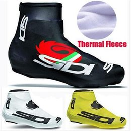 Wholesale Bike Warmers - Winter Thermal Fleece Team Cycling Sport Shoe Cover MTB Bike Ciclismo Shoe Cover Super Warm Racing MTB Bicycle Cycle Shoe Cover