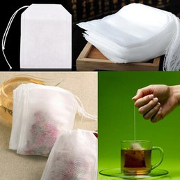 Wholesale Fashion Hot Empty Teabags Tea Bags String Heal Seal Filter Paper Teabag x CM for Herb Loose Tea