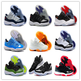 Wholesale Cheap Shoes Low Prices - 2018 new shoes 11s men Basketball Shoes Cheap Price Sale Perfect Quality infrared low high sport shoes sale size us 8-13
