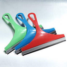 Wholesale Glass Squeegee Rubber - Lowest Price Car Glass Windshield Cleaner Rubber Wiper Window Squeegee Shower Shaver Scraper order<$18no track