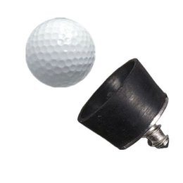 Wholesale Golf Screw - High quality 28x26mm mini black Rubber Golf Ball Pick Up Putter Grip Retriever Tool Suction Cup Pickup Screw golf training aids order<$18no