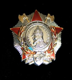 Wholesale Russia Medals - The former Soviet Union, the Soviet Union Alexander Nevski medal Medal Badge Medal of Soviet Russia