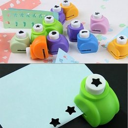 Wholesale Paper Shaper Punches - Free Shipping Kid Child Craft Tool DIY Printing Paper Shaper Punch Card Cutter Scrapbooking Scrap booking Edge Craft Punch Card Making 100pc