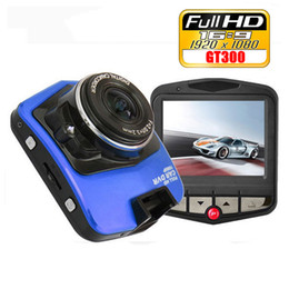 Mini vidéos pour caméras en Ligne-DVR Caméra Novatek Mini voiture GT300 Dashcam 1920x1080 vidéo Full HD 1080p Registrator Recorder G-sensor Night Vision Cam Dash