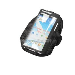 Wholesale Armband Galaxy Note Ii - Wholesale-BUH9 Sport Running Armband Case Mesh Arm Band for Samsung Galaxy Note II N7100