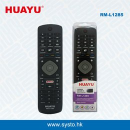 Wholesale Philips Controller - RM-L1285 Universal TV Remote Controller Add Netflix Function Use for Philips LED LCD HD TV