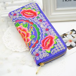 Wholesale chinese wholesale clutch bags - Wholesale- Classical Chinese Style Women Handbag Ladies Handmade Purse Clutches National Retro Embroidered Bag