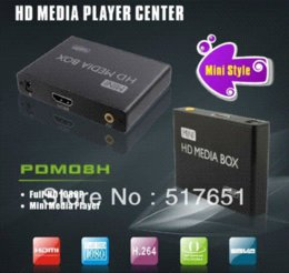 Wholesale Mmc Player - MINI HDMI Media Player,support USB storage and MMC SD SDHC card,AD player,MKV & Blu-ray DVD movies,full-HD 1080p,free shipping