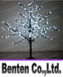 Wholesale Pink Artificial Christmas Trees - LED Artificial Cherry Blossom Tree Light LED Christmas Light 480pcs LEDs 1.5m Height 28W LED Landscape Lighting Outdoor Light LLFA4452F