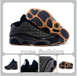 Wholesale Quai 54 - Cheap XIII(13) Retro Basketball Shoes XIII 13 Retro Low QUAI 54 Sports Shoes Men Athletics Sneakers Sports Boots Top Quality Mens Trainers
