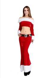 Wholesale Mermaid Mascot - Popular Series!!!!mascot 2015 Christmas clothing The women little mermaid style Two parts Suit dress