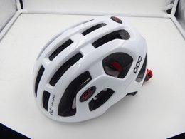Wholesale Bike Helmet Sizing - New Cycling POC Helmet Capacete Ciclismo SafetyHead Protect Bicycle Helmets Mountain Road Bike Helmet Cap Sport Men Size L 54-61cm With Box