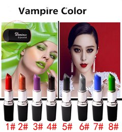 Wholesale Wholesale Makeup Stands - Vampire Color Lipstick Waterproof lipstick stand holder Top Quality Matte Lipstick Makeup Luster Lipstick Frost Lipstick Matte Lipstick
