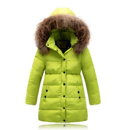 Wholesale Thick Girl Coats - Baby Girls Winter Coats 2015 Kids Jackets For Boys Parka Down Thick Warm Outdoor Casual Windproof Children Jackets