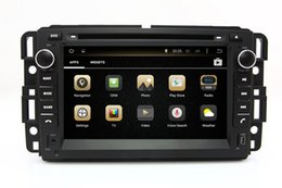 Wholesale Navigation For Gmc - Android 7.1 Car DVD Player for GMC Acadia Tahoe Yukon 2007-2012 with GPS Navigation Radio Bluetooth USB Video Stereo WIFI 4Core