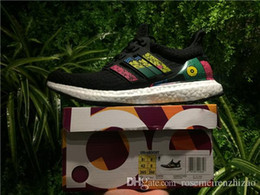 Wholesale Soccer Football Boots Brand - Originals Ultra Boost 3.0 Brand Kaws Trace Khaki Multicolor SNS Running Shoes Ultraboost Runner Primeknit Boost 350 V2 Zebra Sport Shoes