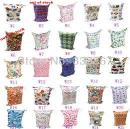 Wholesale Diapers Skulls - 1 New Design Wet  Dry Bag, With Two Zippered Baby Diaper Bag, Nappy Bag, Waterproof, Reusable,Skull