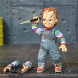 Wholesale Horror Figures - Demishop New Hot Original Neca Horror Series Chucky Cult Collection Action Figure for Fans Holiday Gift