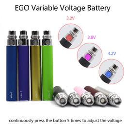 Bouton de batterie à tension variable EGO-T Ajuster la tension pour la cigarette électronique CE4 CE5 CE6 MT3 Vivi Nova atomiseur (06h003) ? partir de fabricateur