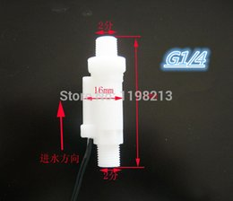 Wholesale Reed Valve - Wholesale-5pcs Water Flow Switch Valve Reed Switches Proximity Switches Flow Switch Valve